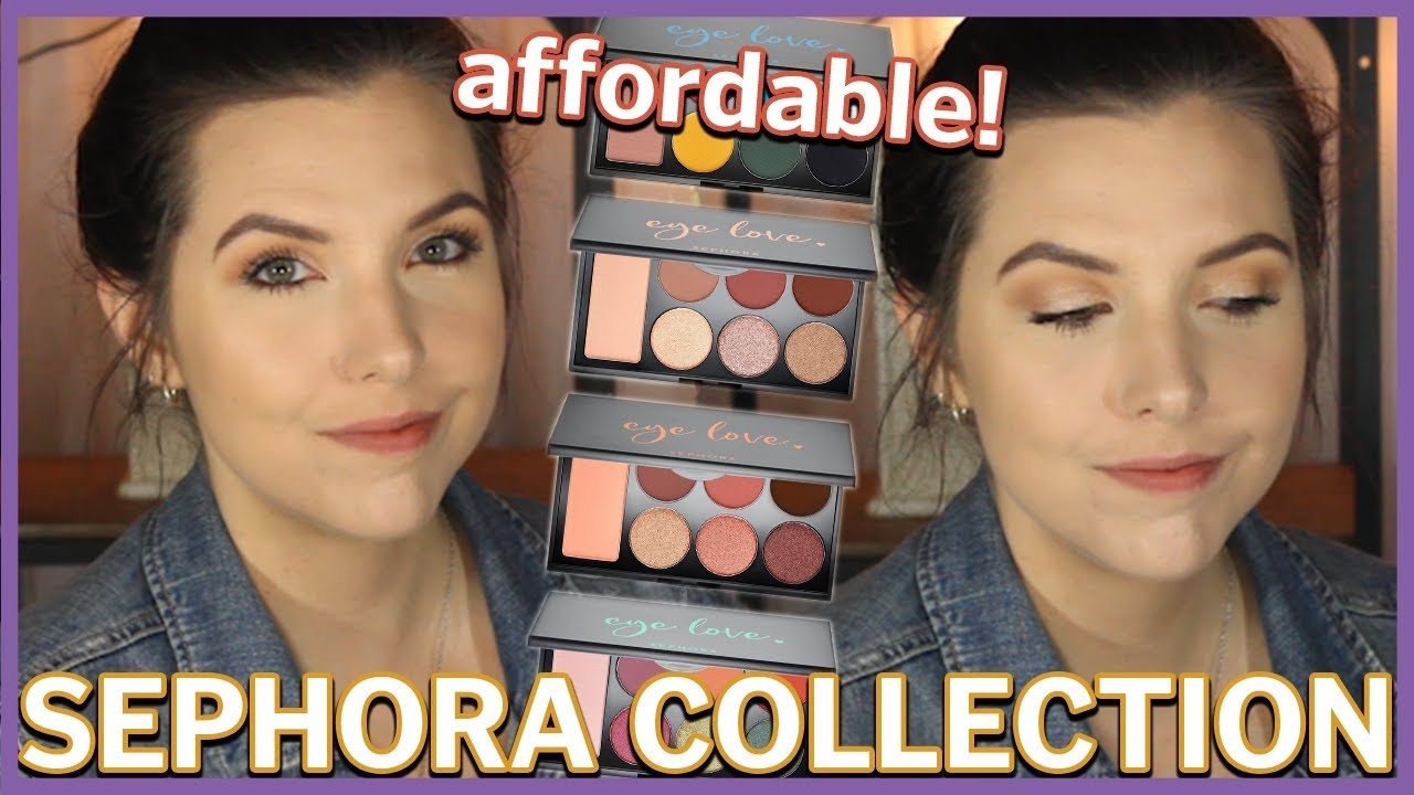 Affordable Neutral Eyeshadow Palette From Sephora New Eye Love Palette
