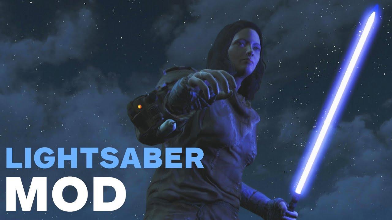 Fallout 4: Lightsaber Mod - IGN Plays