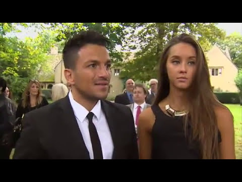 Robin Gibb - Blue plaque unveiling 30/09/2012 - Interview Peter Andre - UK TV