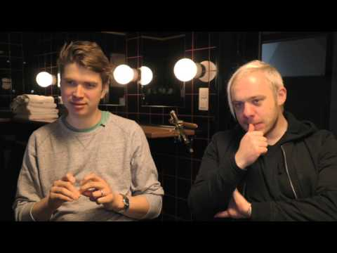 Everything Everything interview - Jonathan and Alex (part 1)