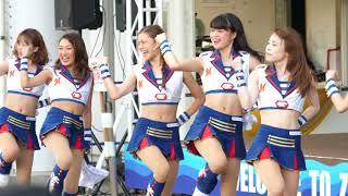 「DA PUMP - U.S.A.」 チアガールが超絶カワイイ♥awesome Japanese dance. baseball cheerleaders. pom-pom girl
