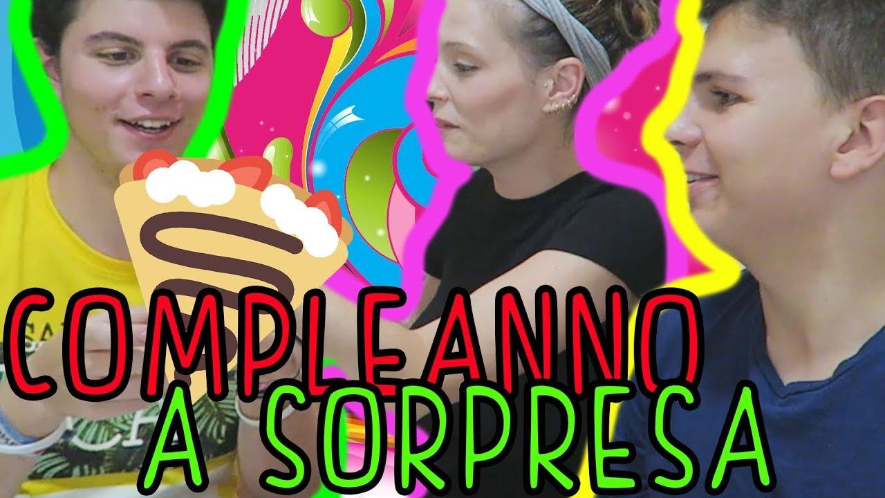 Eccezionale Il Compleanno a SORPRESA più DIVERTENTE del mondo! - YouTube QJ85