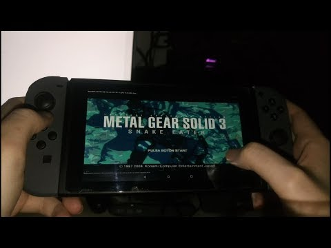 METAL GEAR SOLID 3 | Android LineageOS + DamonPS2 | TEGRA X1 Nintendo Switch