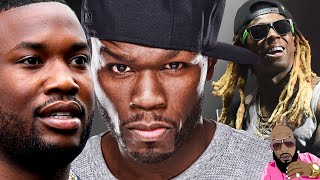 50 Cent And Lil Wayne Drag Meek Mill And He CLAPS BACK!!!