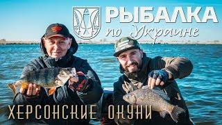 Рыбалка по Украине. Ловля крупного карася и окуня в дельте Днепра