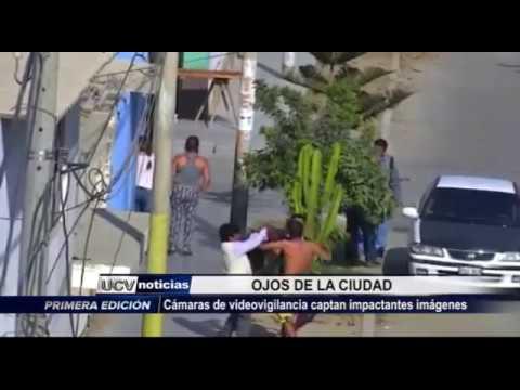 Víctor Larco: Cámaras de vigilancia captan impactantes imágenes