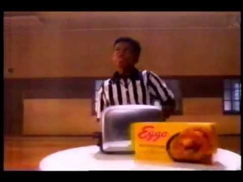Dan Majerle  and B. J. Armstrong Eggo Waffle Commercial, 1994