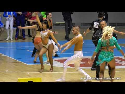 Gold Master 2017 Torino, Danze Caraibiche, Caribbean Show Dance, Salsa Shine, Merengue,Rueda (25)