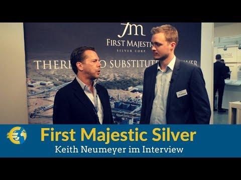 First Majestic Silver CEO Keith Neumeyer im Interview | Silber, Silberaktien