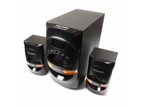 Обзор акустическая система 2.1 Dialog Progressive AP-210B