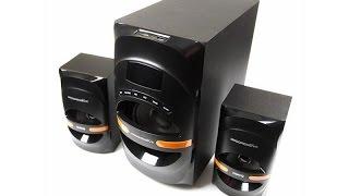 Огляд акустична система 2.1 Dialog Progressive AP-210B