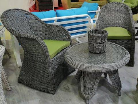 Мебель из искусственного ротанга AMARO