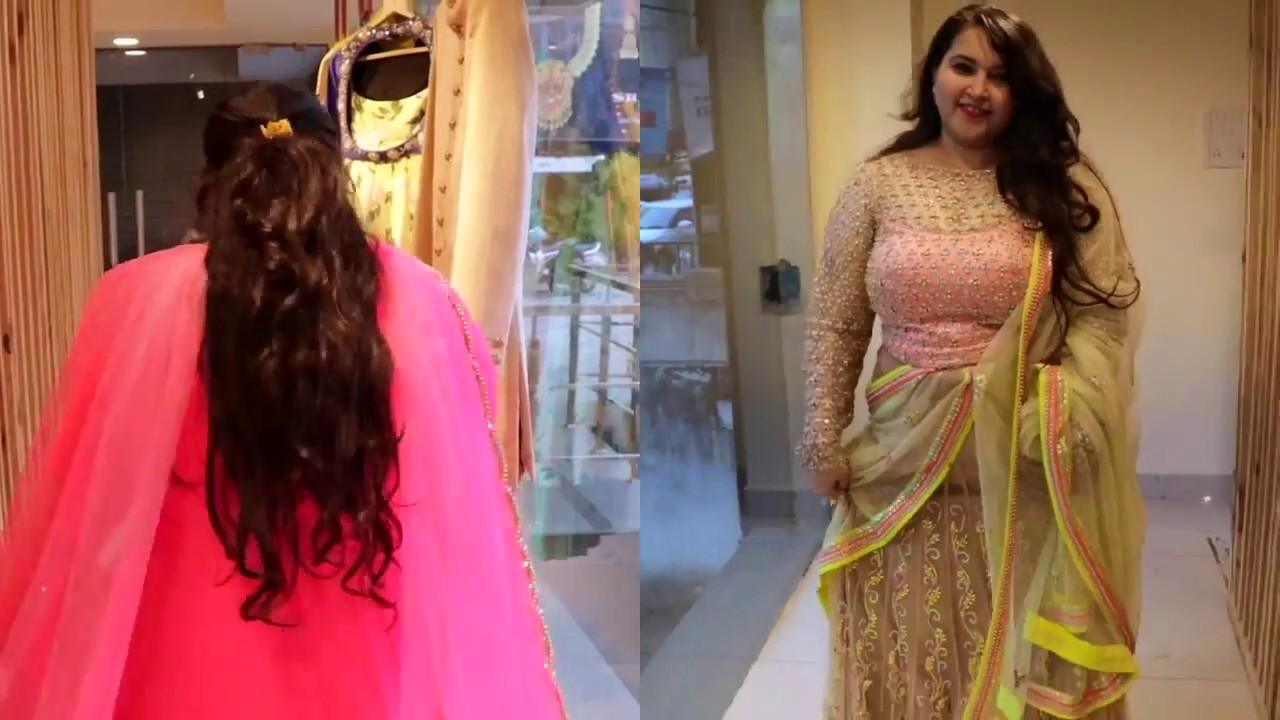 3c3cf2ad293 Plus Size Designer Lehenga On Rent