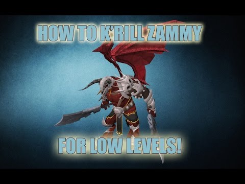 Low Level Zamorak (K'ril Tsutsaroth) Solo Guide! | All the Strats | Best Methods | Runescape 2015
