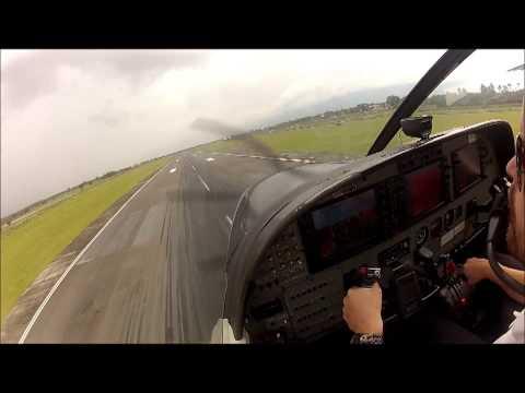 Landing in Banda Aceh, Sumatra, Indonesia - Susi Air Cessna Grand Caravan C208B