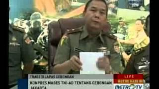 Sebelas Anggota Kopassus Terlibat Penyerangan Lapas Cebongan Sleman