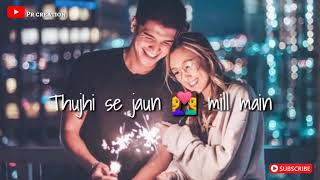 Vaste song new whatsapp status tere alawa koi bhi khwahish lyrics by Aknewstatus