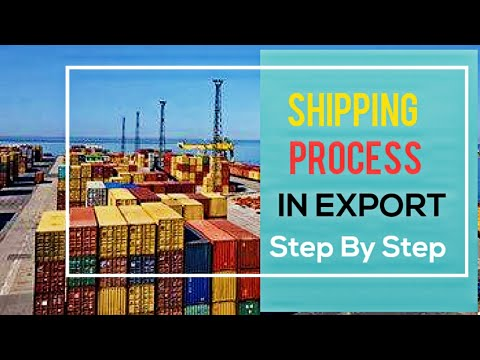 Export Shipping Documentation Process [IMPORT EXPORT]