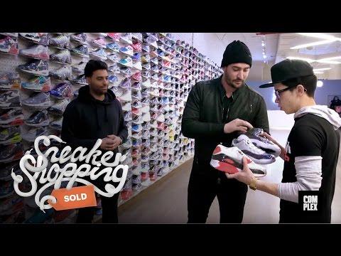 Matt Harvey Goes Sneaker Shopping with Complex