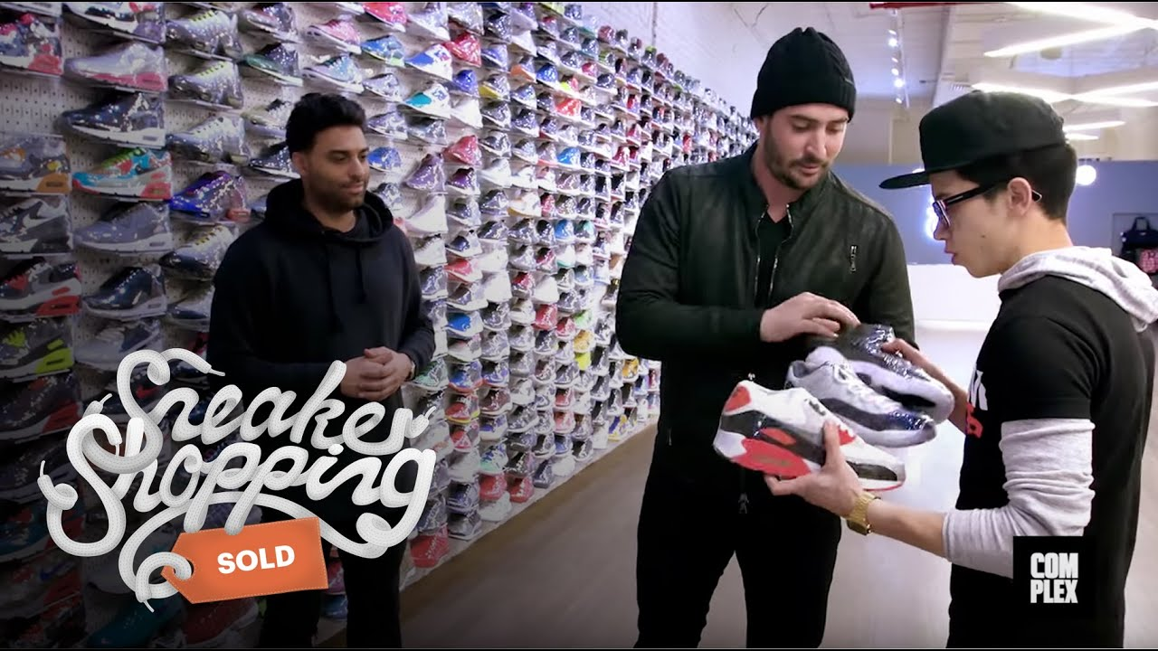 2c9ca1eac3b1 Matt Harvey Goes Sneaker Shopping with Complex - YouTube