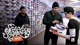 Matt Harvey Goes Sneaker Shopping with Complex