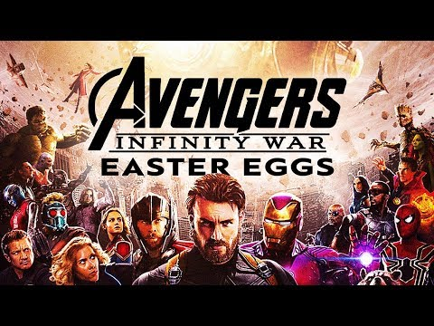 Movie Easter Eggs - AVENGERS: INFINITY WAR // Ep.23
