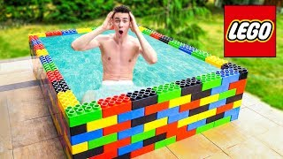ZBUDOWAŁEM OGROMNY BASEN LEGO!