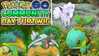 MI PRIMER SHINY 0%IV & PRIMER SHINY ALOLA!! COMMUNITY DAY DE TURTWIG en Pokémon GO