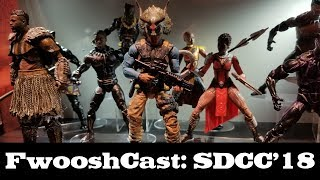 FwooshCast: Star Wars and Marvel Legends Recap Preview Night SDCC 2018