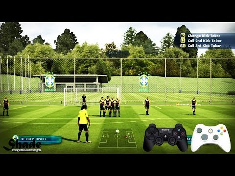 2014 FIFA World Cup Brazil Free Kick Tutorial | Xbox & Playstation | HD 1080p