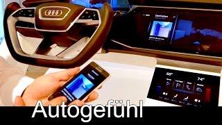 Audi technology insight: Virtual Reality, Future Cockpit, Assistance & light systems
