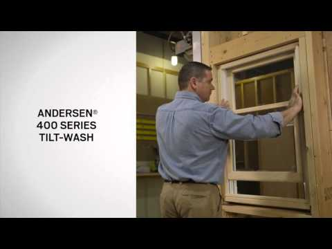 Identifying the Series of Andersen® Hung Windows