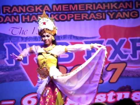 Dance bali in ntb expo