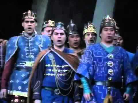 OPERA 'ATTILA' Verdi COMPLETE, La Scala, 1990