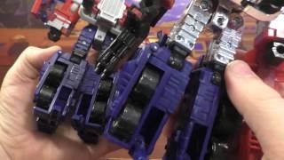 transformers review classics optimus prime aoe repaint