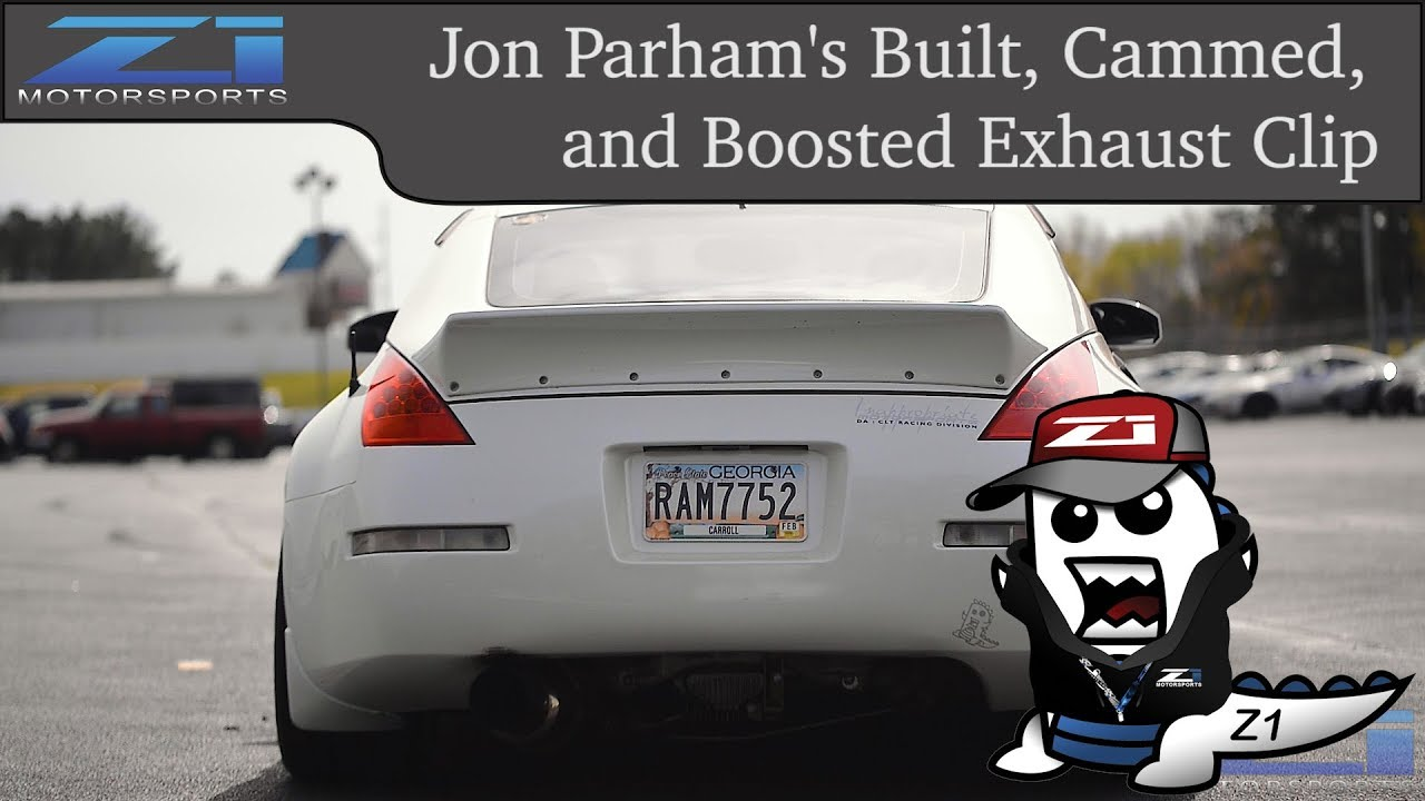 Jon's Built, Cammed, and Boosted VQ35DE Exhaust Clip