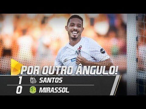 Santos 1 x 0 Mirassol | O GOL POR OUTRO ÂNGULO | Paulistão (09/02/19)