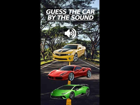 Guess the car by the sound #shorts