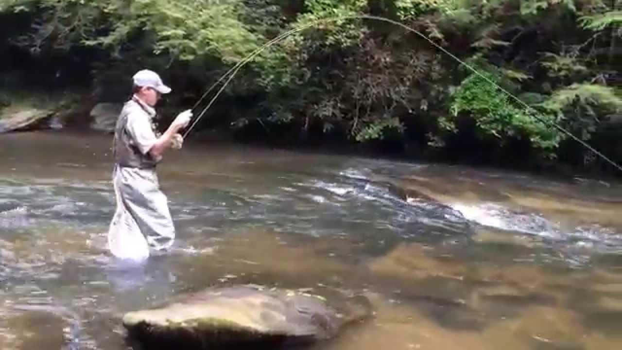 Soque river fly fishing at blackhawk youtube for Blackhawk fly fishing