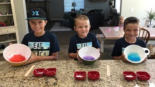 HOW TO MAKE SLIME USING THREE SIMPLE INGREDIENTS FOUND IN YOUR HOME