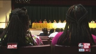 Town Hall Meeting On Black-on-black Crime