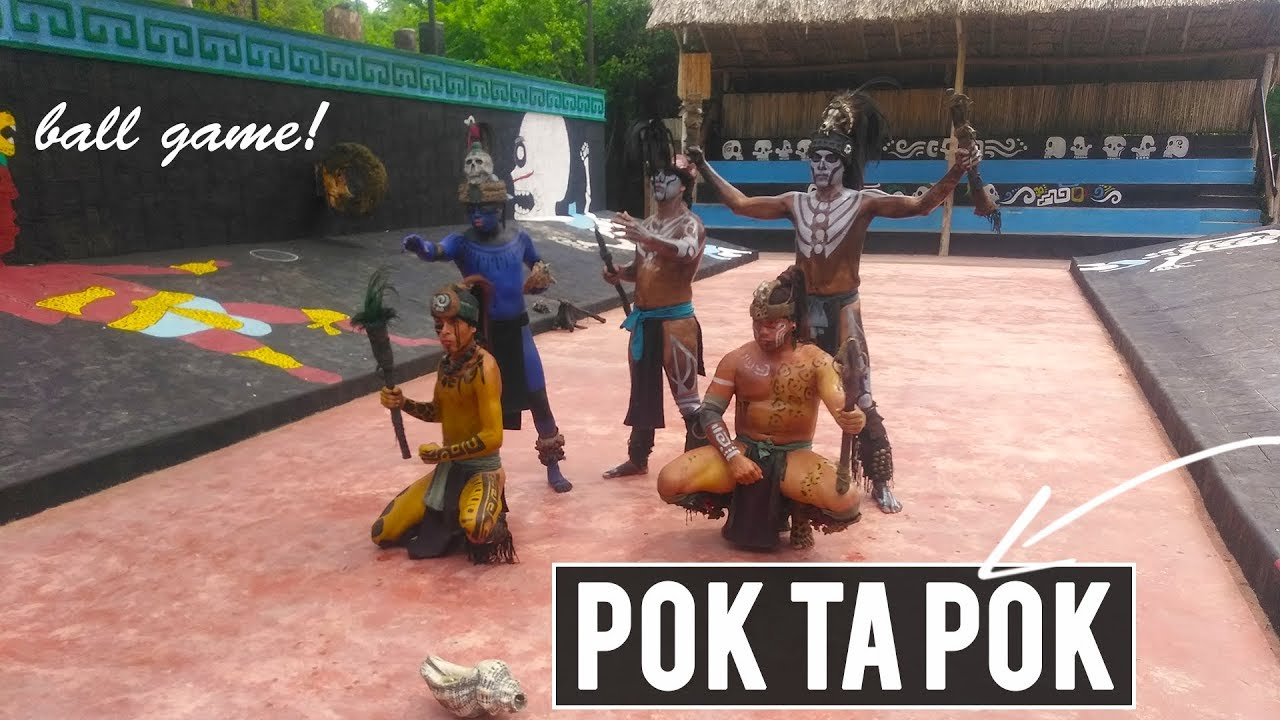 Pok Ta Pok Maya Ball Game- opening ceremony and