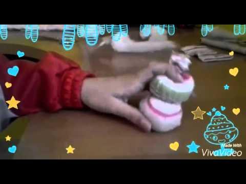 Mu eco de nieve con calcetines youtube for Munecos con calcetines