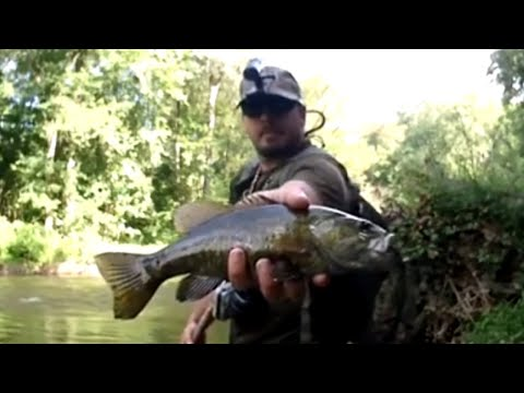 Life And A Couple Fish - Fly Fishing The Mohican River, Ohio - August 2018 - The Fly Guy