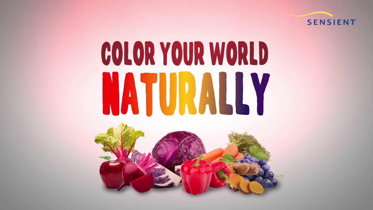 Sensient Food Color Myth 1 - YouTube