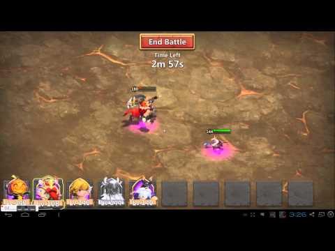 Castle Clash Boss 3 Perma Stun (No Heavy Blow)