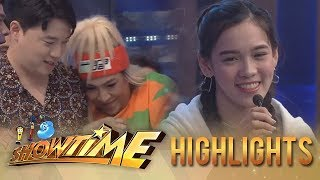 """It's Showtime PUROKatatawanan: Vice gets shy when """"Ate Girl"""" Jackque challenged him"""