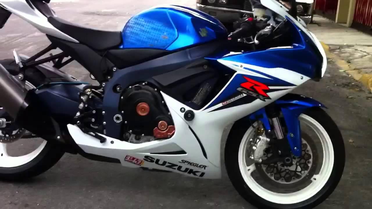 Suzuki Gsxr 600 2011