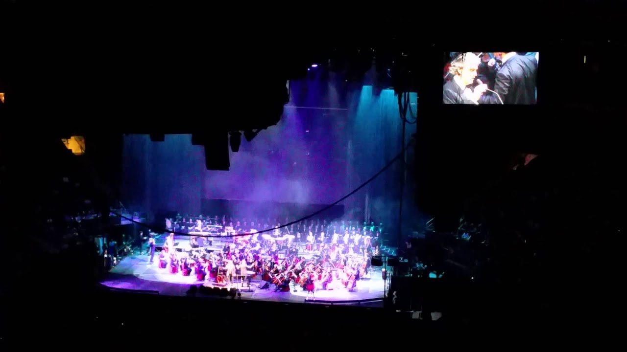 Andrea Bocelli Dec 2014 Madison Square Garden Ny Youtube