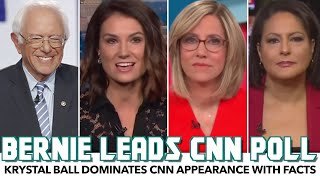 Krystal Ball Dominates CNN Appearance With Facts As Sanders Takes National Lead